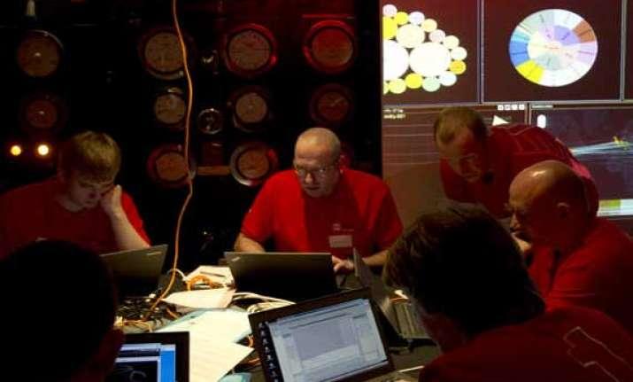 uk holds cyberwar game in churchill s ww2 bunker
