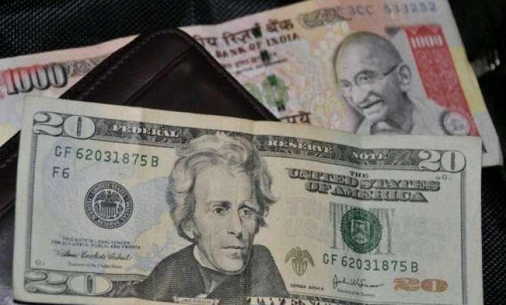 us dollar ends steady against rupee