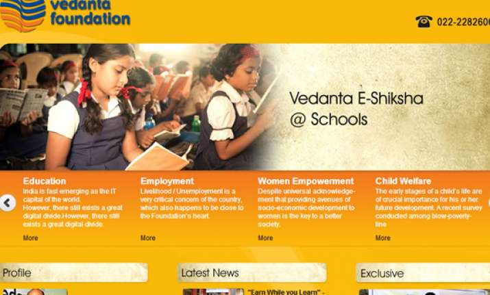vedanta foundation enters odisha education sector
