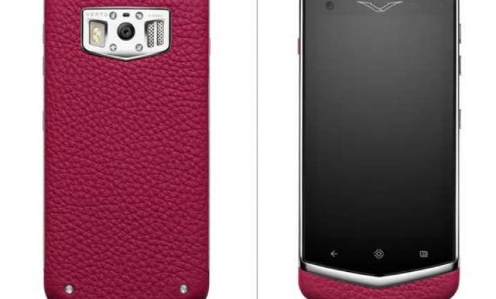 vertu launches rs 4.1 lakh luxury handset
