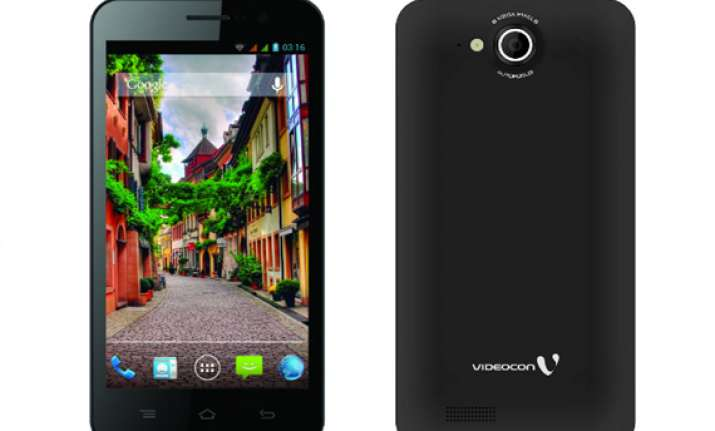 videocon a55hd android smartphone launched in india for rs