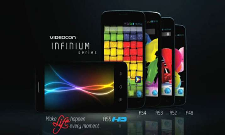 videocon mobiles launches eight 3g smartphones