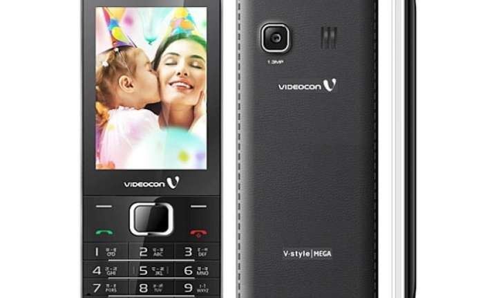 videocon launches feature phone range in v style series