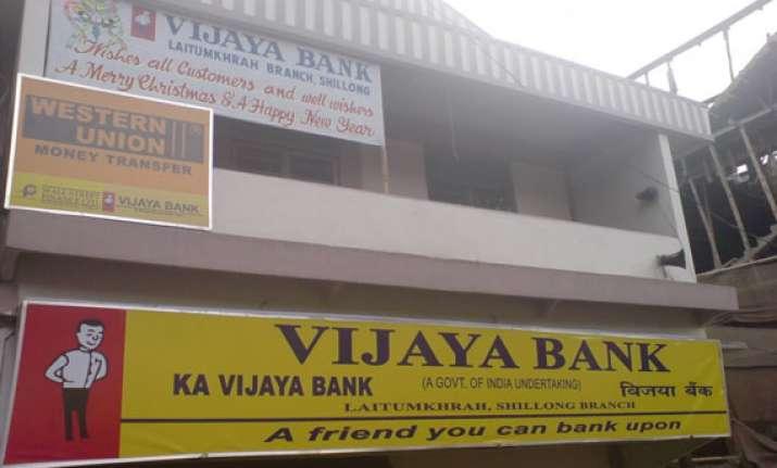 vijaya bank dec quarter net plummets 91 to rs. 11.39 crore