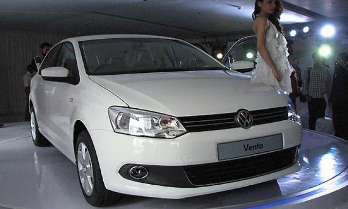 volkswagen launches vento diesel at rs 8.56 lakh