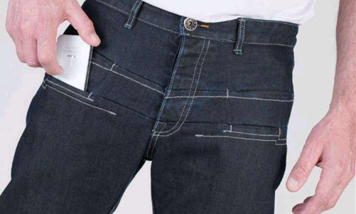 wtfjeans will protect your iphone from water and radiation
