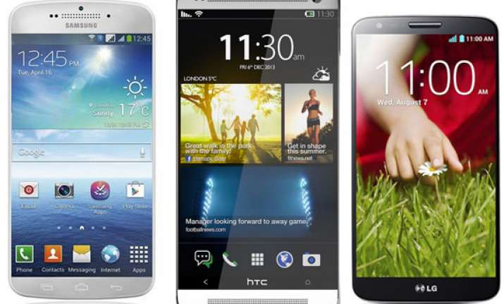 weekly smartphone launches samsung galaxy s5 htc one m8 lg
