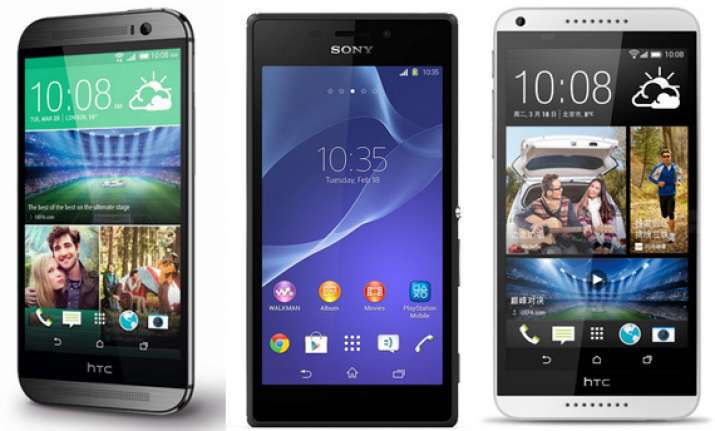 weekly smartphone launches htc one m8 sony xperia m2 dual