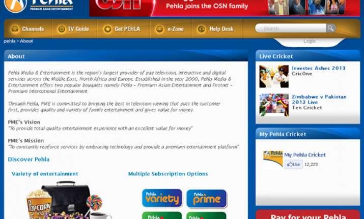 dubai pay tv firm osn buys pehla media entertainment