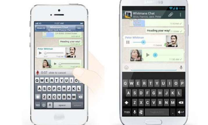 whatsapp introduces voice messages crosses 300 million users
