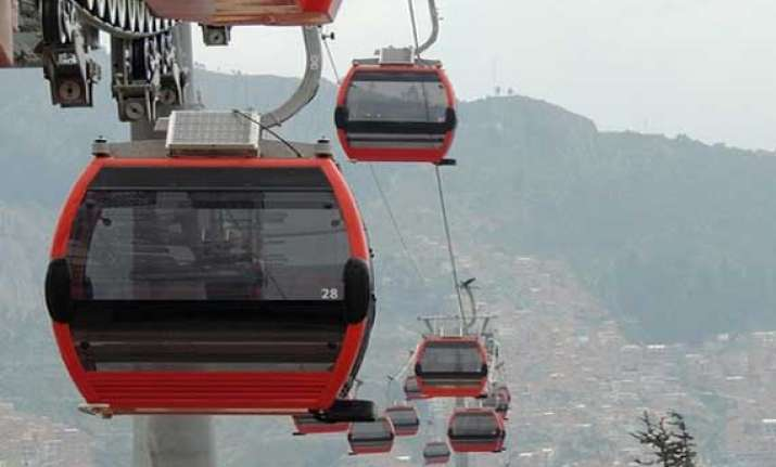 world s highest cable car system opens in bolivia