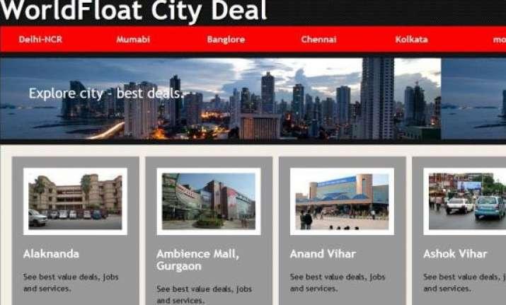 worldfloat unveils citydeals social plus e commerce
