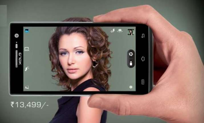 xolo q1010i with 8 megapixel exmor r camera launched at rs
