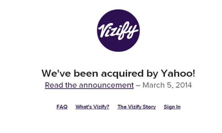 yahoo buys vizify firm that visualizes social media data