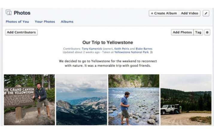 facebook launches 10000 picture shared albums