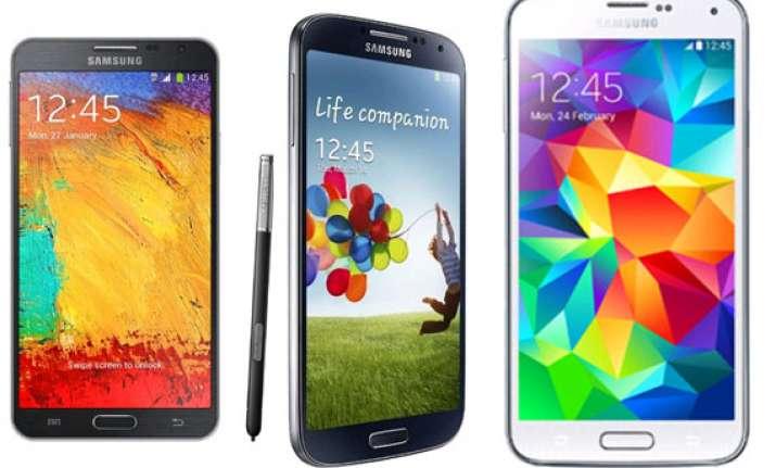 15 best samsung smartphones in india may 2014
