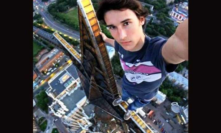 8 awesome selfies by russian spiderman 7th one is wow