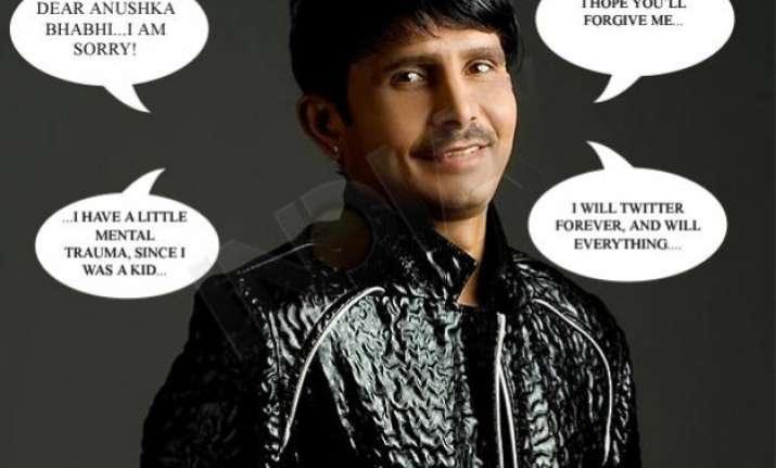 kamaal r khan s emotional apology letter to anushka bhabhi