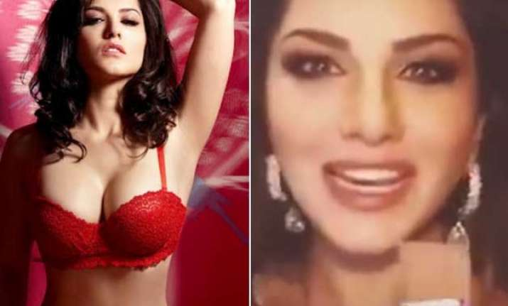watch video sunny leone asks chocolate but gets condom from