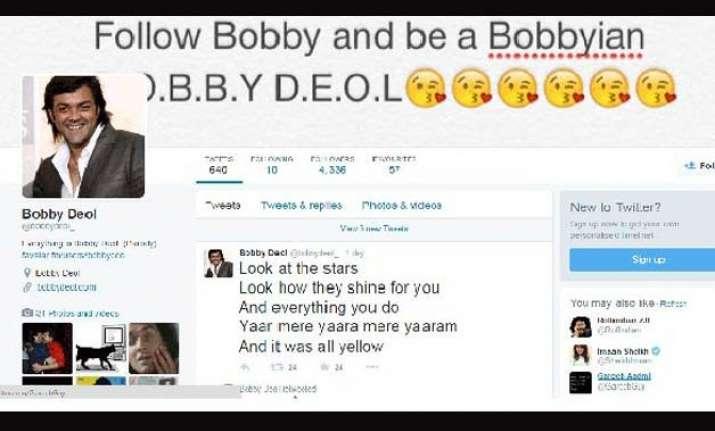 bobby deol s lol parody tweets