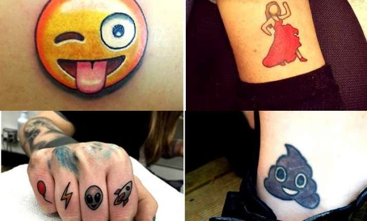 22 emojis tattoos