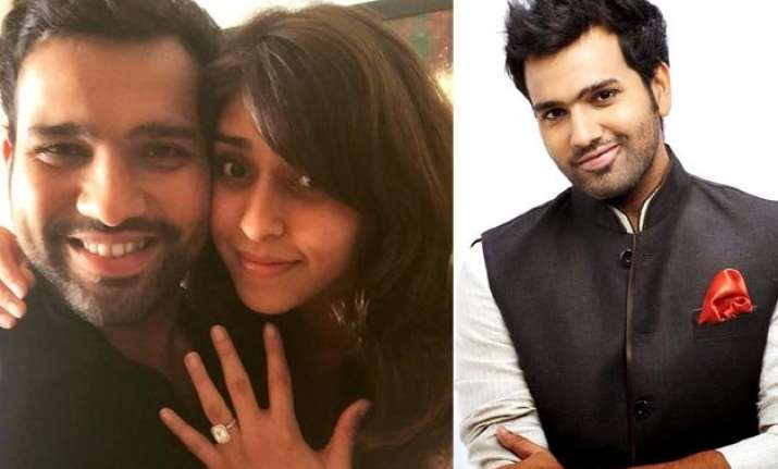rohit sharma s bollywood ishtyle proposal to girlfriend