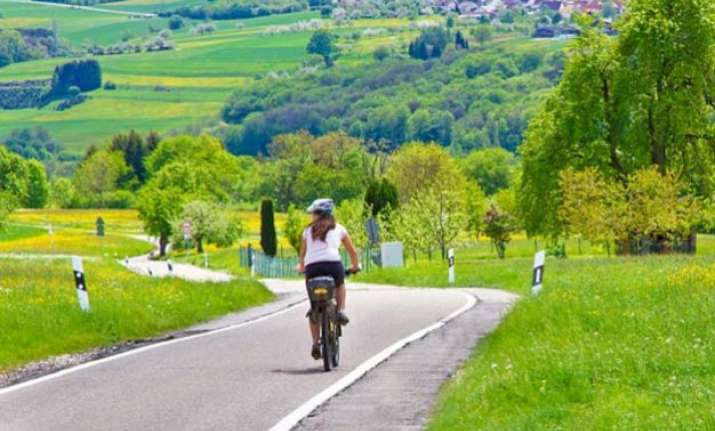 no oddeven ruckus germany gets car free 62 mile bicycle