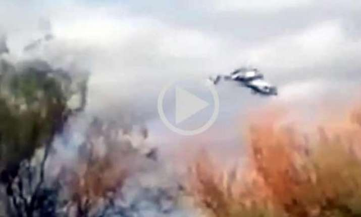 video amateur captures helicopter collision killing french