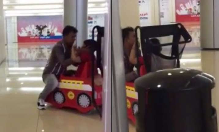 watch video toddler molested by toy car operator at al qasr