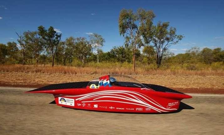 funky solar cars race across australia watch video