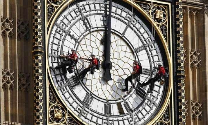 london s big ben to fall silent for 40 million repair job