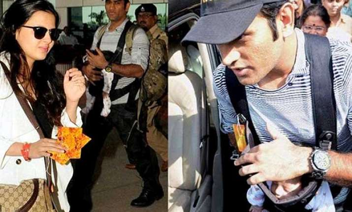 5 gestures that prove captain cool dhoni is now daddy cool