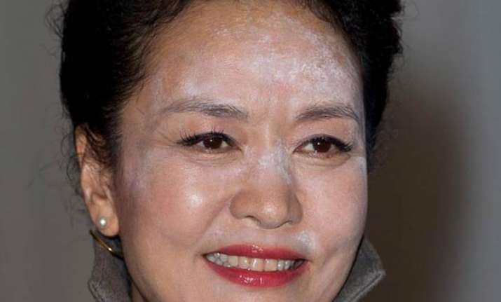 chinese first lady in embarrassing make up gaffe