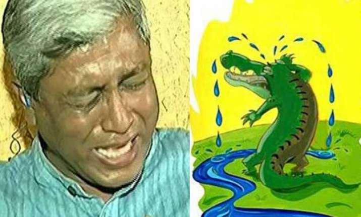 ashucries twitteratis troll aap s ashutosh for crying