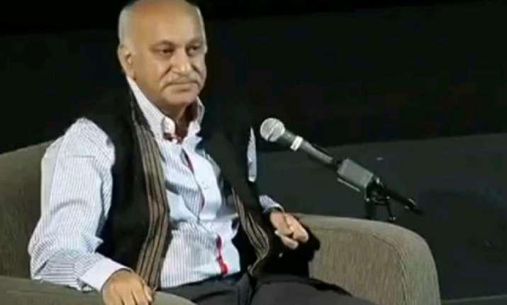 pakistani journo irks mj akbar what happened next is