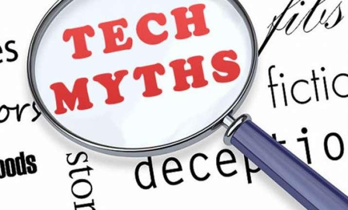 9 tech myths decoded