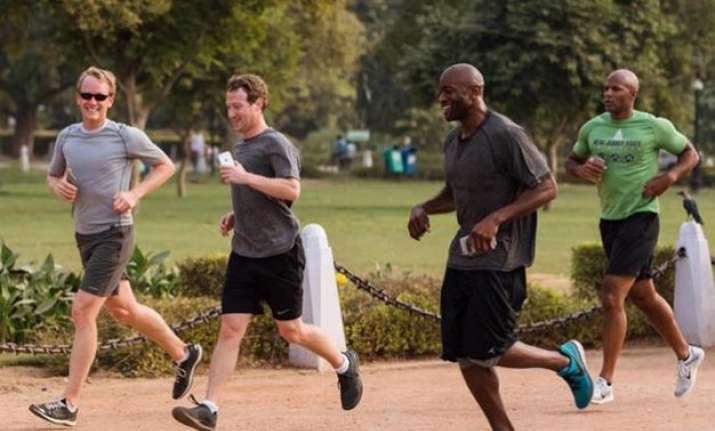 run 587 km with facebook ceo mark zuckerberg this year
