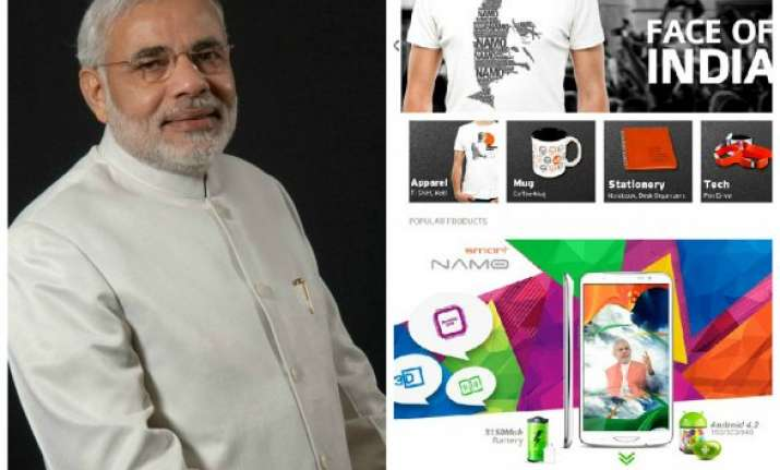 be ready to eat namo aam and wear namo shirts