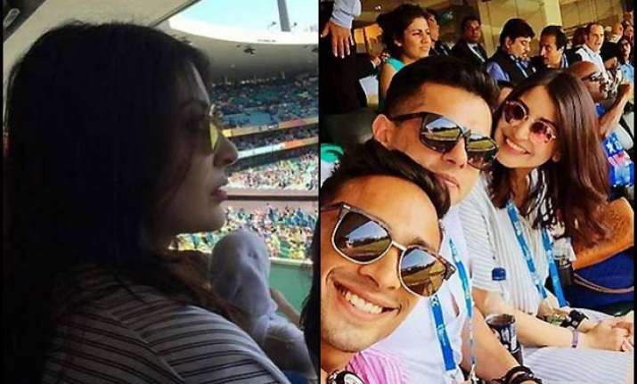 why anushka shouldn t have gone to watch the semi finals