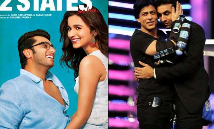 2 states was first offered to shah rukh khan ranbir kapoor