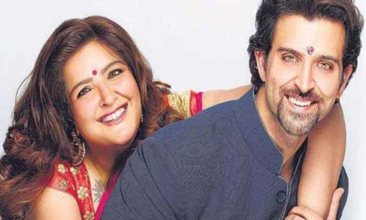 a smile on sunaina s face adds spark to hrithik s life view