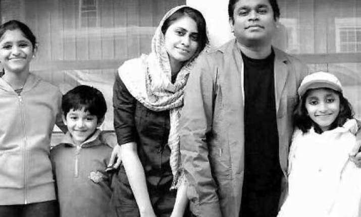 rahman s son floors father with love