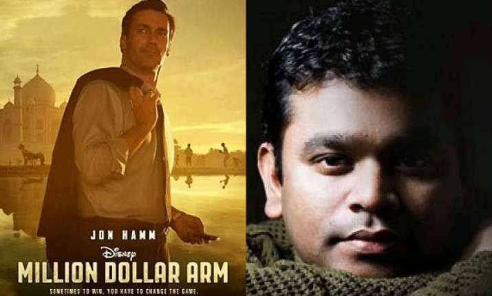 a.r. rahman busy with hollywood movie million dollar arm s