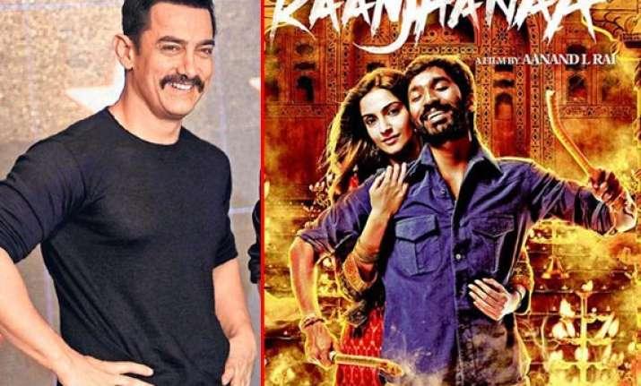 aamir khan all praise for raanjhanaa