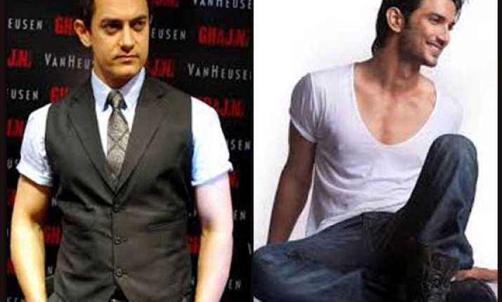 aamir khan starts his films from scratch sushant