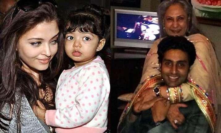 aardhya bachchan sings happy birthday for grandmother jaya