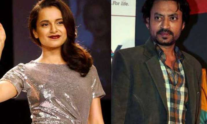 after queen and revovler rani kangana to romance irrfan in