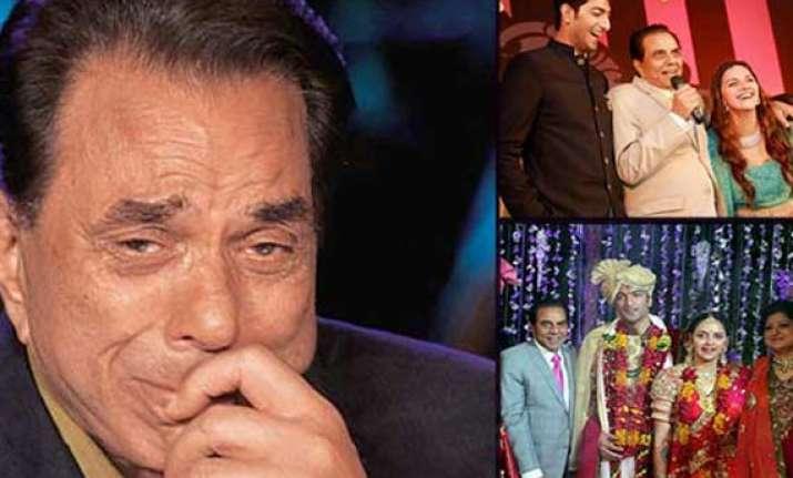 ahana deol wedding emotional dharmendra talks about ahana