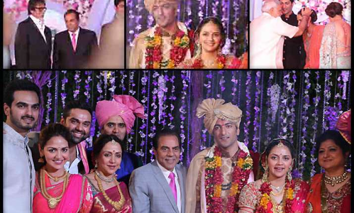 ahana deol wedding narendra modi arrived to bless the