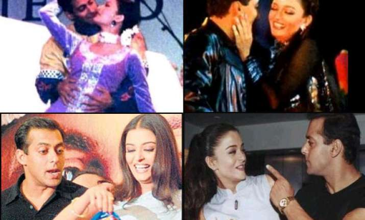 aishwarya rai and salman khan s rare images